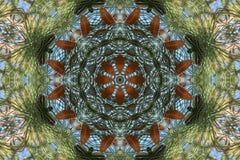 Auf lagerbild des Herbst-Kaleidoskops Lizenzfreie Stockfotografie