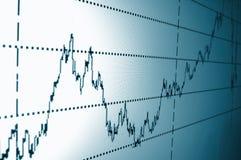 Auf lagerdiagramm Lizenzfreies Stockfoto