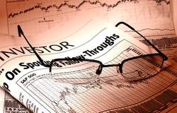 Auf lagerdiagramme stockfoto