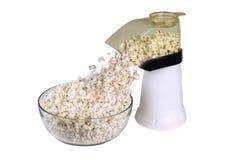 Auf lagerfoto des Popcorns Popper Lizenzfreies Stockfoto