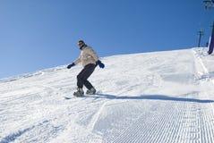 Auf lagerfoto des Wintersports Lizenzfreies Stockfoto