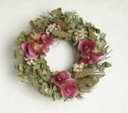 Auf lagerfoto von BlumenWreath Stockbild