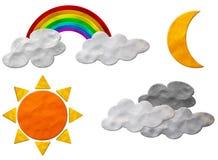 Auf lagerfoto: Wetter Plasticine Lizenzfreie Stockfotos