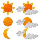 Auf lagerfoto: Wetter Plasticine Stockbilder