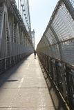 Auf Manhattan-Brücke rütteln, New York Stockbilder