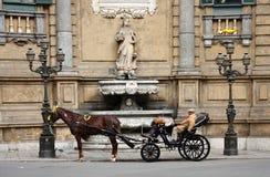 Auf Quato cante von Palermo Lizenzfreie Stockfotografie