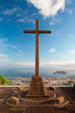 Auf Sao Miguel Stockbild