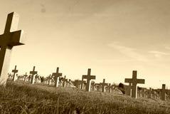 auf Schlachtfeld von Vimy-Erstem Weltkrieg Frankreich Lizenzfreie Stockbilder