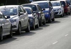 Auf Straßenparken Lizenzfreies Stockfoto