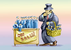 Auf Verkauf Stockfoto