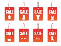 Auf Verkaufs-Abbildung - vektordatei Stockbilder