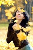 Auf Wiedersehen, Herbst lizenzfreies stockfoto