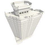 Aufbau 3D Lizenzfreie Stockfotos