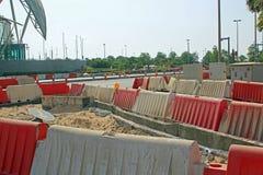 Aufbau-Abzugsgraben, Einbau Lizenzfreie Stockbilder
