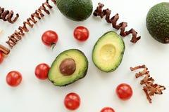 Aufbau der Avocado Lizenzfreie Stockbilder