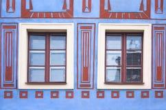 Aufbau der Fenster Stockfotos