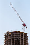 Aufbau der Gebäude Stockfoto