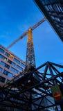 Aufbau der Gebäude Lizenzfreies Stockbild
