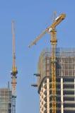 Aufbau der modernen Architektur Lizenzfreies Stockbild