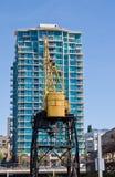 Aufbau der neuen Gebäude lizenzfreies stockfoto