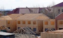 Aufbau der neuen Häuser Stockfoto