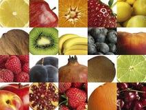 Aufbau der unterschiedlichen Frucht Stockfoto