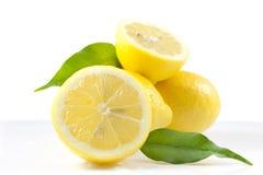 Aufbau der Zitronen Lizenzfreie Stockfotos