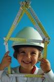 Aufbau des Hauses Stockfoto