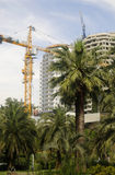 Aufbau des hohen Gebäudes Stockfotos