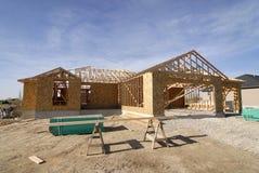Aufbau des neuen Hauses Lizenzfreie Stockbilder