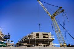 Aufbau des neuen Hauses Lizenzfreie Stockfotos