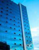 Bau des Wolkenkratzers Lizenzfreie Stockfotografie