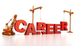 Aufbau einer Karriere Stockfotos