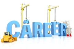 Aufbau einer Karriere Lizenzfreie Stockbilder