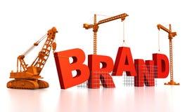 Aufbau einer Marke Lizenzfreie Stockbilder
