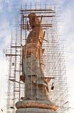 Aufbau eines chinesischen Gottes stockfotos