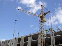 Aufbau eines Gebäudes 3 Stockbild