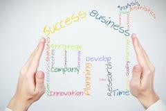 Aufbau eines neuen Geschäfts Lizenzfreies Stockbild