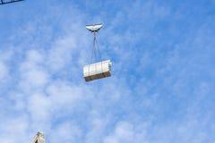 Aufbau eines Wolkenkratzers Lizenzfreies Stockfoto