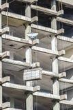 Aufbau eines Wolkenkratzers Stockbild