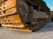 Aufbau-Exkavator Stockfoto