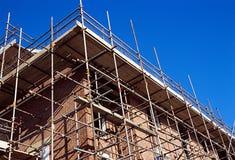 Aufbau-Haus. Stockbild