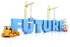 Aufbau Ihres zukünftigen Konzeptes Stockfotos