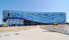Aufbau im Sochi-olympischen Park Stockbild