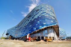 Aufbau im Sochi-olympischen Park Lizenzfreie Stockfotos