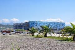 Aufbau im Sochi-olympischen Park Lizenzfreie Stockbilder