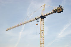 Aufbau-Kran Lizenzfreie Stockfotos