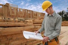 Aufbau-Mann Stockbilder