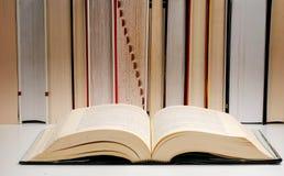 Aufbau mit Büchern Lizenzfreie Stockbilder