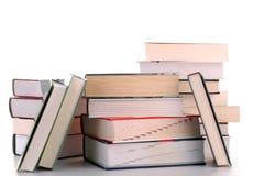 Aufbau mit Büchern Stockfotos